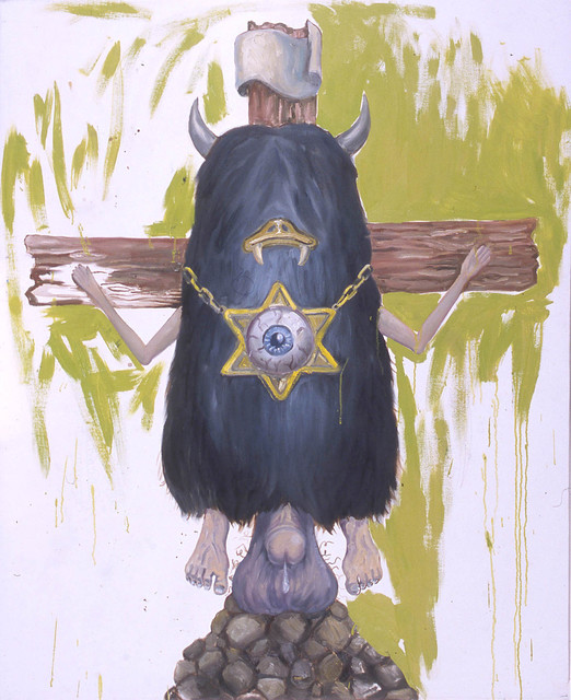 , 'Crucified  Monster,' 2003, Galerie Nathalie Obadia