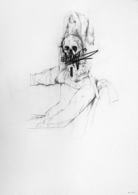 , 'Louis-Nicolas-Marie Destouches, 1816 (D' aprés Ingres),' 2013, Kewenig Galerie