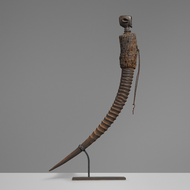 'Carved horn', Wright