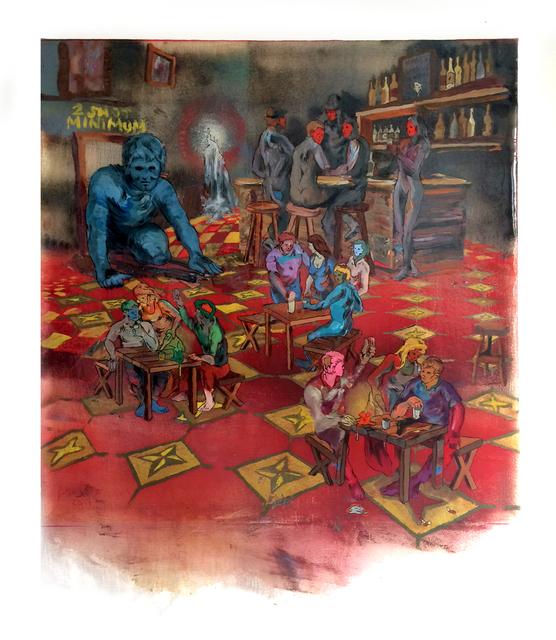 , 'Cafe No'Se,' 2017, Gallery Victor Armendariz