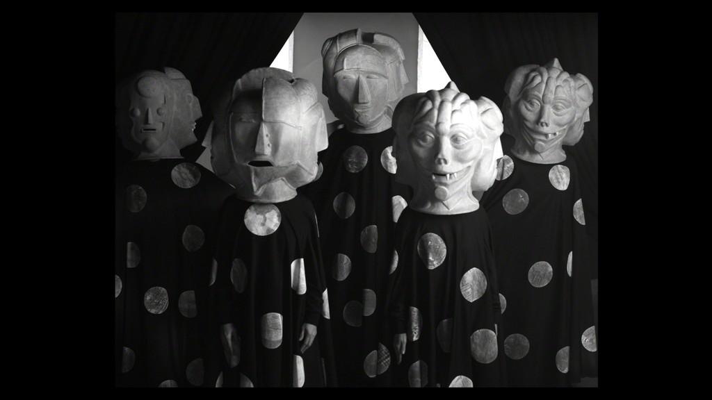 Marcel Dzama, Une Danse des Bouffons (or a Jester's Dance), 2013.