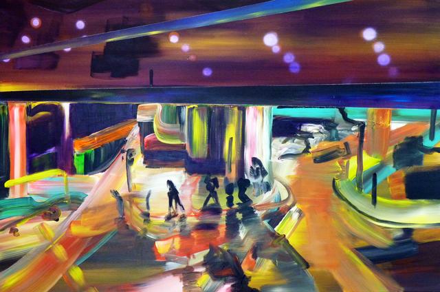 , ' Light will guide you I,' 2015, Galerie Sandhofer