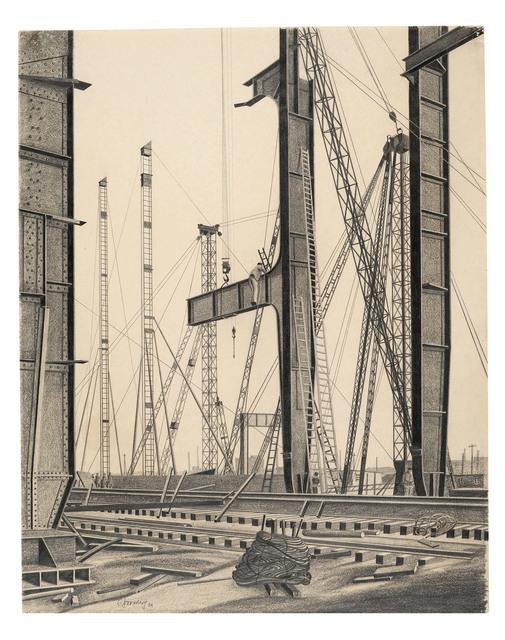 , 'Kesselhausstützen (BEWAG, Berlin),' 1929, Galerie Michael Hasenclever KG