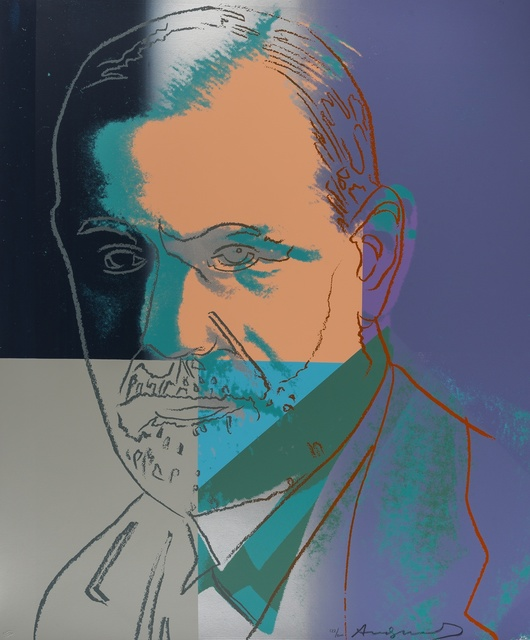 Andy Warhol, 'Ten Portraits of Jews of the Twentieth Century. Freud (Feldman & Schellmann 235)', 1980, Forum Auctions