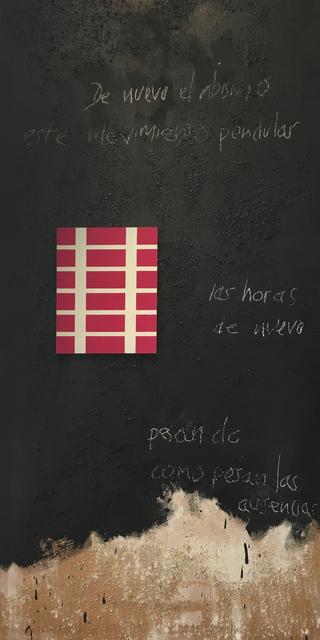 , 'AL FINAL,' 2016, Aurora Vigil-Escalera Art Gallery