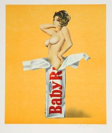Mel Ramos, 'Candy,' 1981, Heritage Auctions: Holiday Prints & Multiples Sale