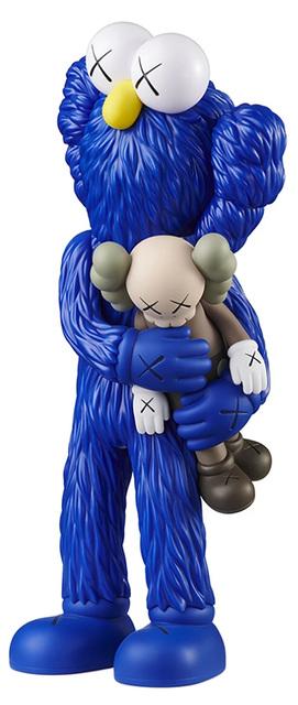 KAWS, 'KAWS TAKE companion (blue)', 2020, Sculpture, Painted Vinyl Cast Resin figure, Lot 180