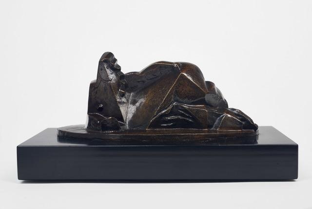 , 'Femme couchée au miroir,' 1922, DICKINSON
