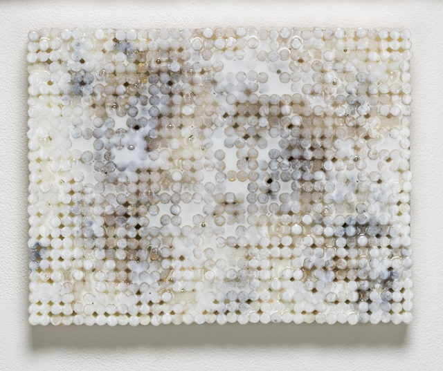 , 'White Gold Static,' 2018-2019, Elizabeth Leach Gallery