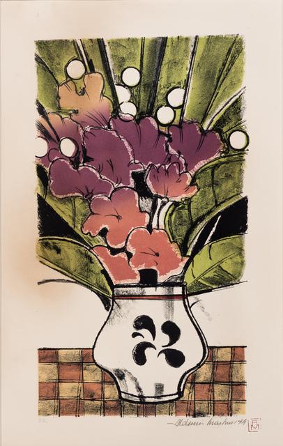 Aldemir Martins, 'Vaso de Flor', 1984, Ligia Testa Espaço de Arte