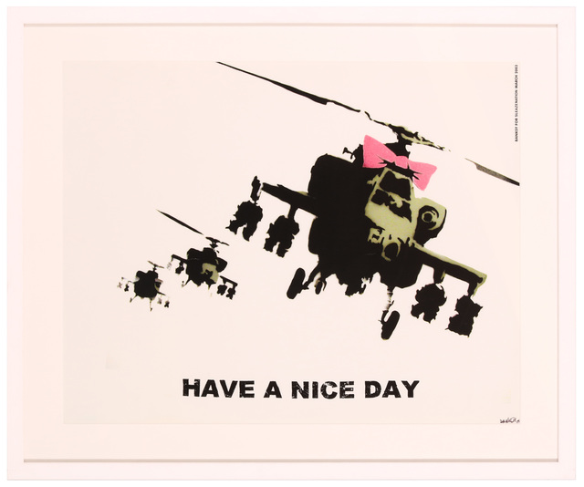 Banksy, 'Have A Nice Day', 2003, Chiswick Auctions