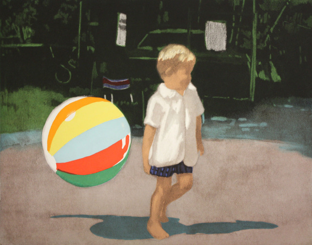 , 'Tommy and the Ball,' 2008, Berggruen Gallery