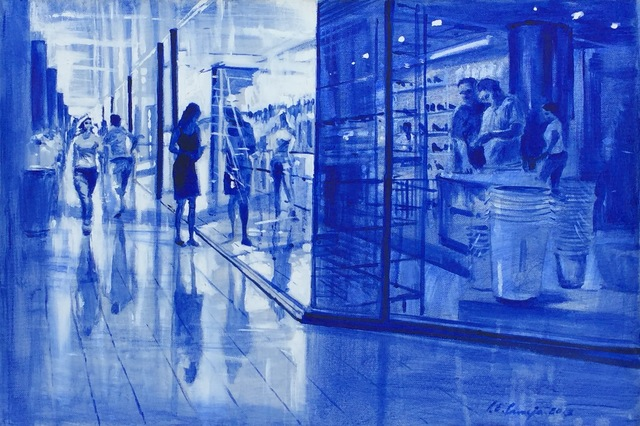 Luis Enrique Camejo, 'Reflejos (Reflections)', 2013, Painting, Acrylic on canvas, Discoveries In Art