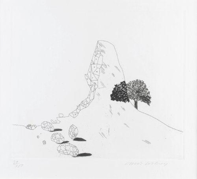 , 'The Glass Mountain Shattered from Illustrations for Six Fairy Tales from the Brothers Grimm,' 1969, Grob Gallery