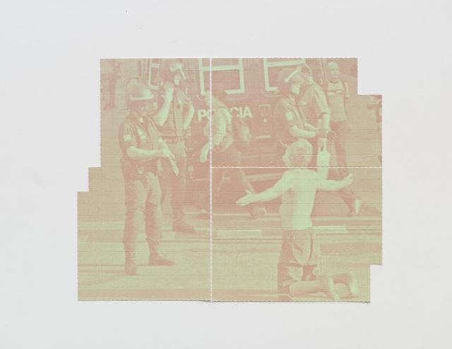, 'Realidade placebo (Policia no es seguridad),' 2014, Galería Vermelho