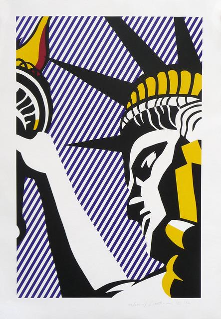Roy Lichtenstein, 'I Love Liberty', 1982, Print, Screenprint in colors, David Benrimon Fine Art