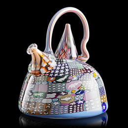 Large Crazy Quilt Teapot, Whidbey Island, WA