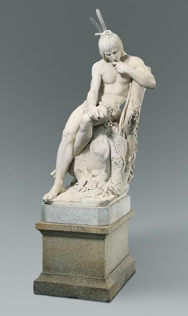 Augustus Saint-Gaudens, 'Hiawatha', 1871–1874, The Metropolitan Museum of Art