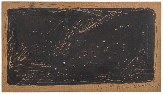 Lucio Fontana, 'Concetto spaziale', 1951, Il Ponte