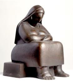 , 'Sitting in Serenity,' 2014, al markhiya gallery