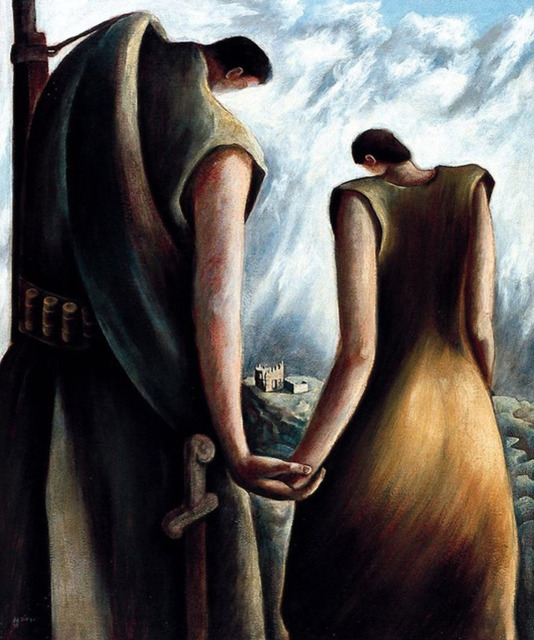 , 'Homage to the Spanish Republic,' 1938, Caldwell Gallery Hudson