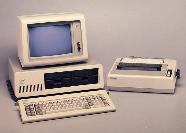 , 'IBM 5150 Personal Computer,' 1981, New York Historical Society