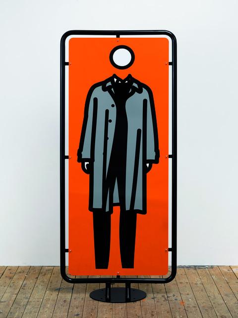 Julian Opie, 'Man Waiting', 2006, Opera Gallery
