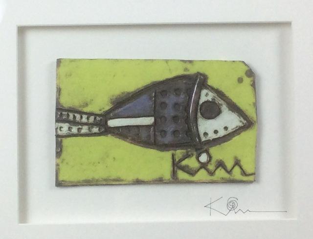 Kimmy Cantrell, 'Purple Fish', 2020, Sculpture, Triple Glazed Ceramic, Gugsa Black Arts Collective