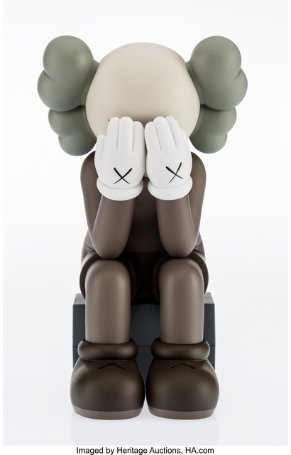 KAWS, 'Companion- Passing Through (Brown)', 2013, Heritage Auctions