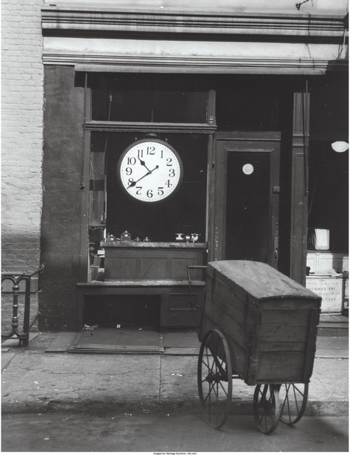 Berenice Abbott, 'Christopher Street Shop', 1948, Heritage Auctions