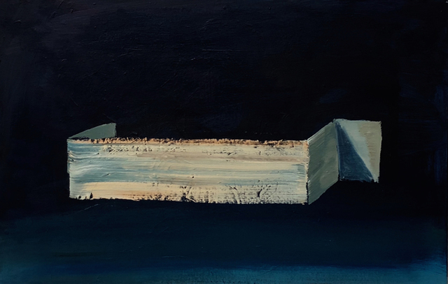 Andrei Roiter, 'Invisible Wall', 2018, Painting, Oil on canvas, Akinci
