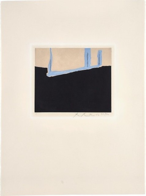 Robert Motherwell, 'Untitled', 1975, Print, Etching and aquatint in colors on Arches Cover paper, michael lisi / contemporary art
