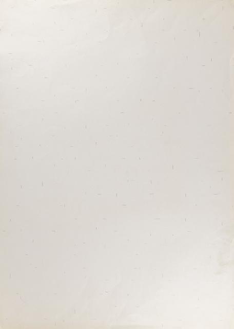 Dadamaino, 'Untitled', 1977, Martini Studio d'Arte