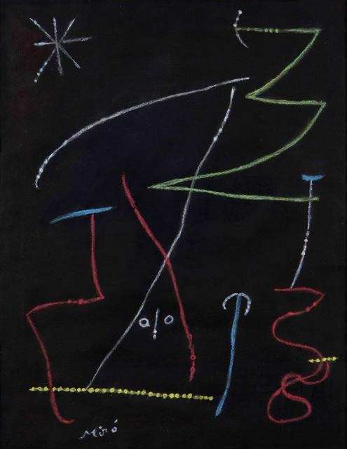 Joan Miró, 'Composition au visage', 1955, Cambi
