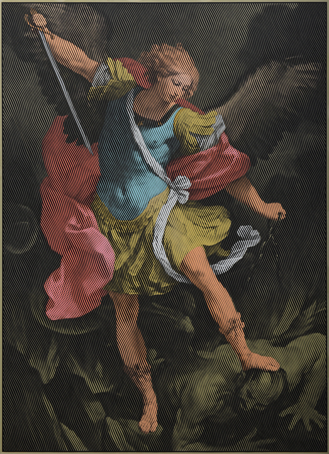 , 'Archangel Michael (after Guido Reni),' 2018, Orekhov Gallery