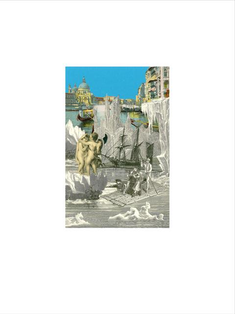 Peter Blake, 'Venice - 'Iceberg 1'', 2009, Paul Stolper Gallery