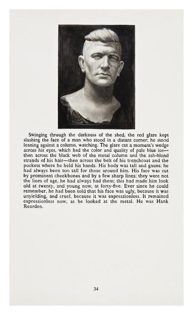 Yevgeniy Fiks, 'Ayn Rand in Illustrations (Atlas Shrugged, page 34)', 2010, Winkleman Gallery