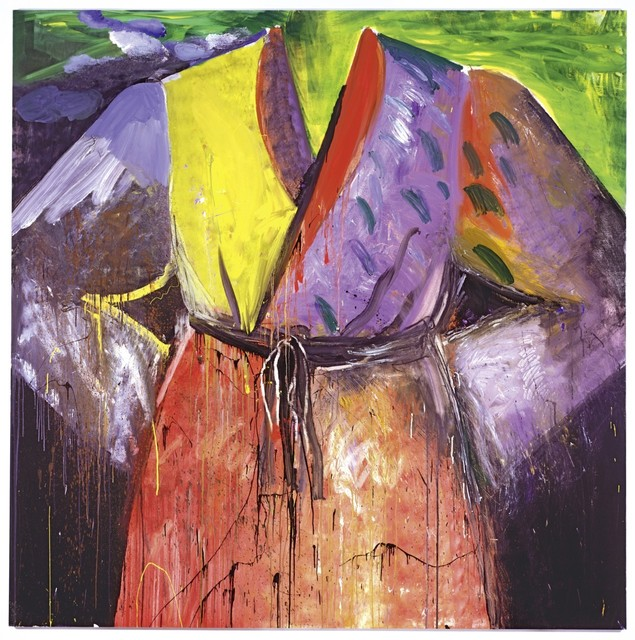 Jim Dine, 'Blood's on the river now', 2005, Galerie Thomas