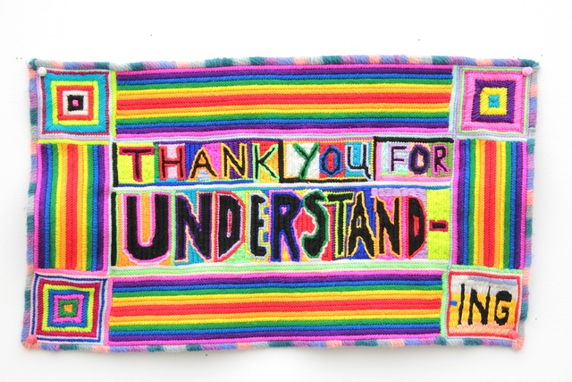 , 'Thank You For Understanding,' 2017, Stems Gallery
