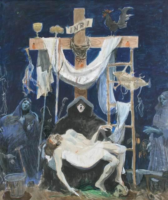 , 'Pieta,' c.1995, Mall Galleries