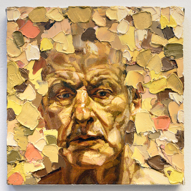 , 'Lucian Freud, from the Small Paintings series (A071),' 2016-2018, Raster