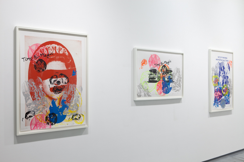 Installation at Paul Stolper Gallery - JAMIE REID / Out of the Dross - 
