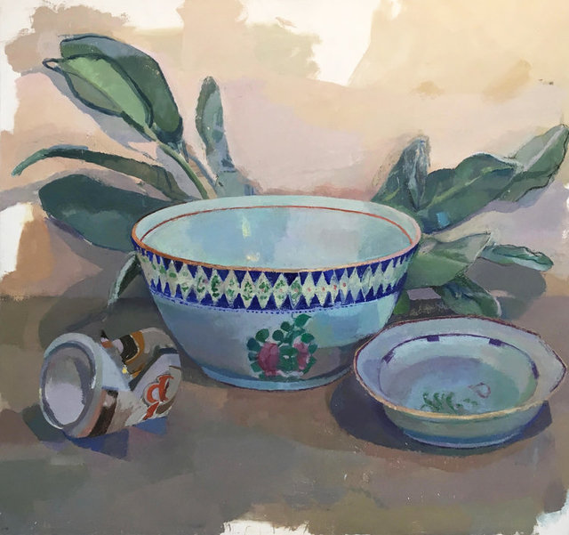 , 'Bowl, Laurel,' 2016-2017, The Painting Center
