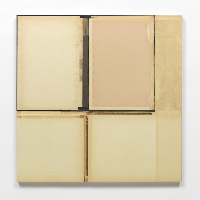 , 'Beige Relief with Blue Accent,' 2008, Traywick Contemporary