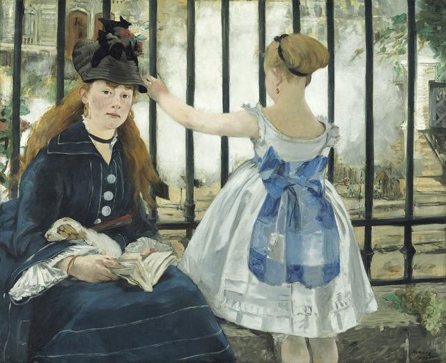 Édouard Manet, 'The Railway', 1873, National Gallery of Art, Washington, D.C.