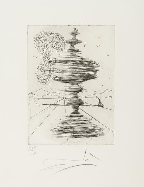 Salvador Dalí, 'Fontaine (M&L 146a)', 1966, Forum Auctions