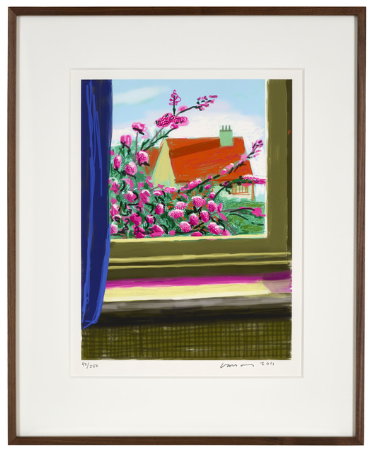 "David Hockney, '17th April 2011 ""No. 778""', 2011, Print, Eight-colour inkjet iPad print on cotton archive paper, DELAHUNTY"