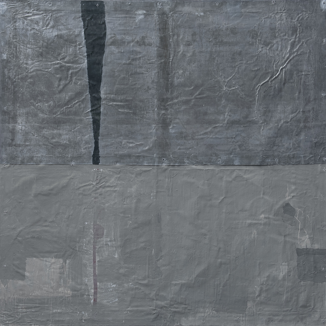 James Brown, 'Stabat Mater XIII', 1988, Painting, Painting on lead, Galerie Lelong & Co.