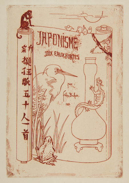 , 'Japonisme: Titre,' 1883, Childs Gallery