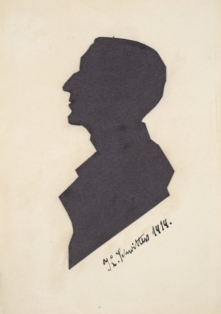 , 'Untitled (Silhouette of a Stranger),' 1919, Galerie Zlotowski